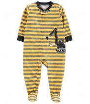 1-Piece Construction Jersey PJs