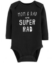 Super Rad Mom & Dad Collectible Bodysuit