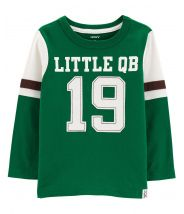 Little QB Carbonized Jersey Tee