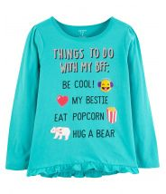 Glitter Things To Do With BFF Ruffle Matchtastic Tee