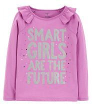 Smart Girls Are The Future Matchtastic Tee