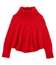 Holiday Poncho Sweater