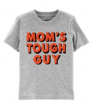 Mom's Tough Guy Jersey Tee