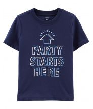 Party Starts Here Jersey Tee