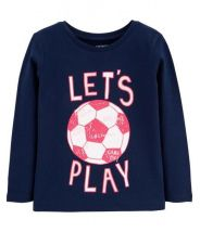 Let's Play Soccer Jersey Tee