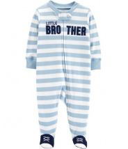 Little Brother Zip-Up Cotton Sleep & Play