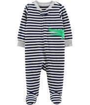 Alligator Zip-Up Terry Sleep & Play