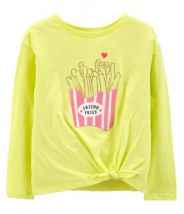 French Fry Tie Tee