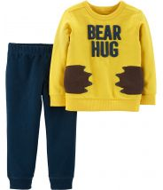 2-Piece Bear Hug Pullover & French Terry Jogger Set