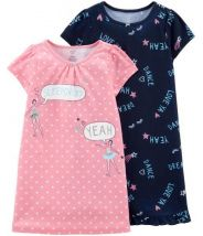 2-Pack Ballerina Sleep Gowns