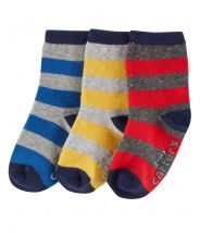 3-Pack Striped Socks