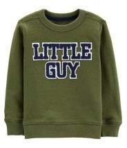 Little Guy French Terry Pullover