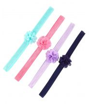 4-Pack Plume Headwraps
