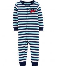 1-Piece Crab Snug Fit Cotton Footless PJs