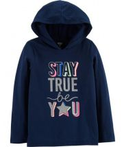Stay True Be You Pullover Hoodie