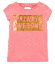 Neon Always Awesome Jersey Tee