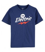 I'm Electric Jersey Tee