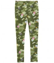 Floral Camo Leggings