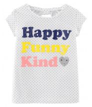 Happy Funny Kind Jersey Tee