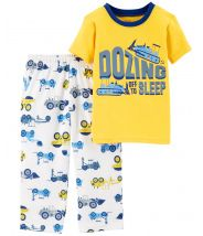 2-Piece Construction Jersey PJs